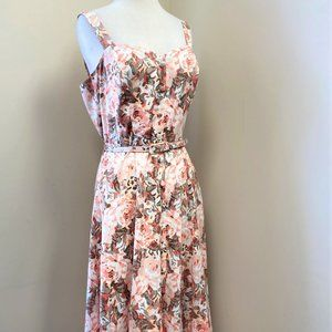 NY & Company Long Floral Dress